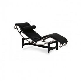 Poltrona relax chaise longue in vera pelle
