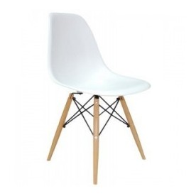 Chaise DSW Charles Eames Blanche