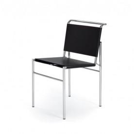Chaise en cuir Eileen Gray