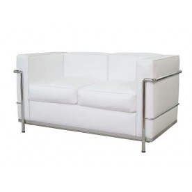 Leather small sofa DV/2 - 2 seats