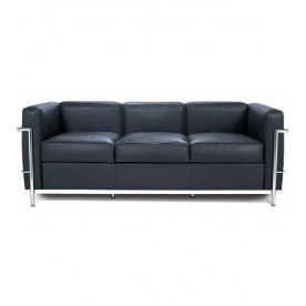 Leather small sofa DV/3 - 3 seats