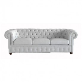Leather small sofa DS/63 - 3 seats