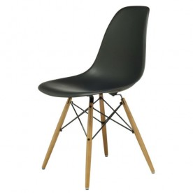 Chaise DSW Charles Eames Noire