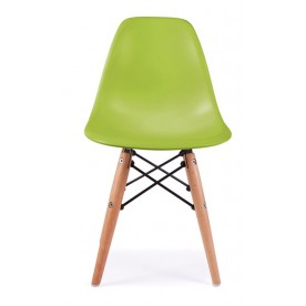 Chaise DSW Charles Eames Verte