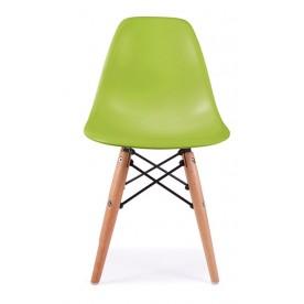 Sedia DSW Charles Eames Verde