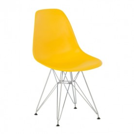 Chaise DSR Charles Eames Jaune