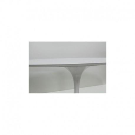 Awesome tavolo tulip ovale contemporary acrylicgiftware - Tavolo rotondo saarinen ...